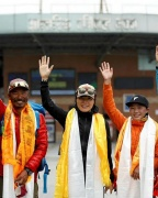 Mount Everest: Teacher who set new women's speed record says 'aim high'
